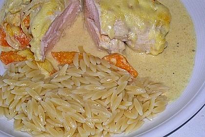 Aprikosen - Curry - Hähnchen 3