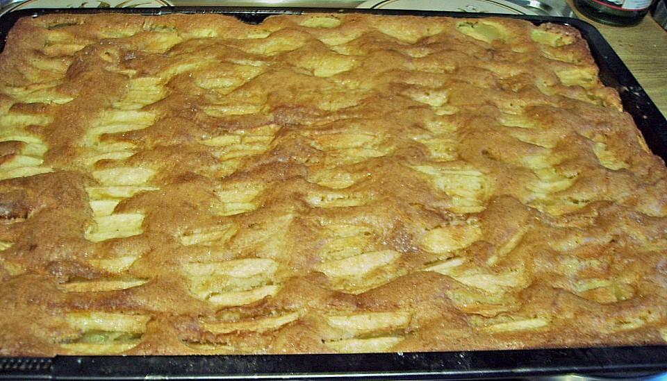 Apfelkuchen Mit Zimt Vom Blech Von Drachenberg Chefkoch De