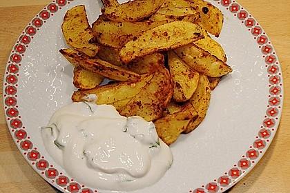 Kartoffel - Wedges, selbst gemacht 7