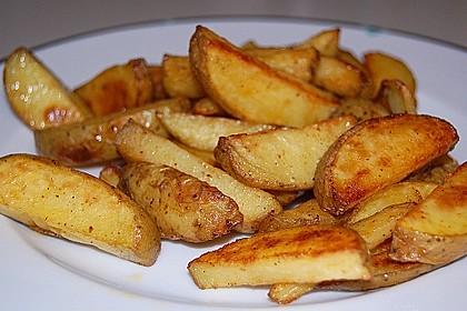 Kartoffel - Wedges, selbst gemacht 2