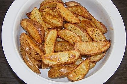 Kartoffel - Wedges, selbst gemacht 3
