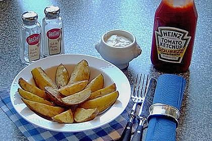 Kartoffel - Wedges, selbst gemacht 50
