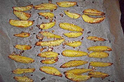 Kartoffel - Wedges, selbst gemacht 56