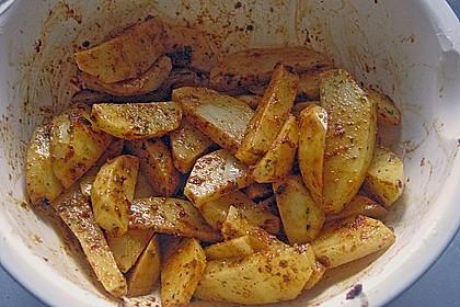 Kartoffel - Wedges, selbst gemacht 57