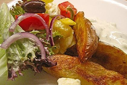 Kartoffel - Wedges, selbst gemacht 8