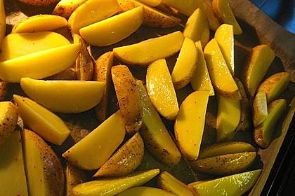 Kartoffel - Wedges, selbst gemacht 42