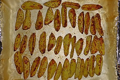 Kartoffel - Wedges, selbst gemacht 59