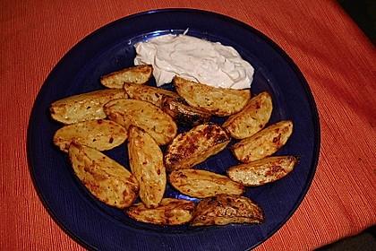 Kartoffel - Wedges, selbst gemacht 24
