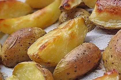 Kartoffel - Wedges, selbst gemacht 9