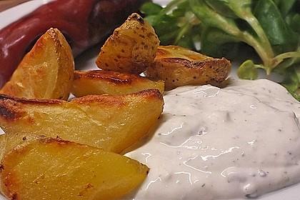 Kartoffel - Wedges, selbst gemacht 6
