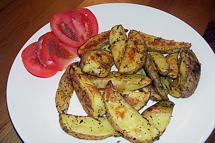 Kartoffel - Wedges, selbst gemacht 19