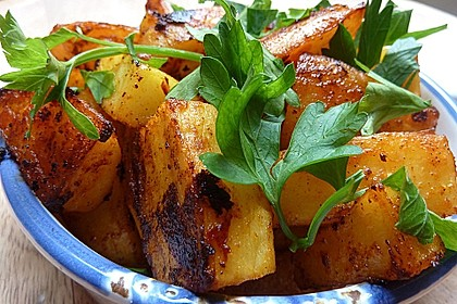 Kartoffel - Wedges, selbst gemacht