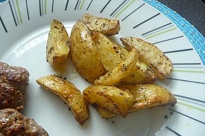 Kartoffel - Wedges, selbst gemacht 4