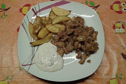 Kartoffel - Wedges, selbst gemacht 48