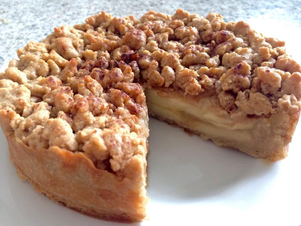 Veganer Apfelmus Streusel Kuchen Von M Egan Chefkoch De