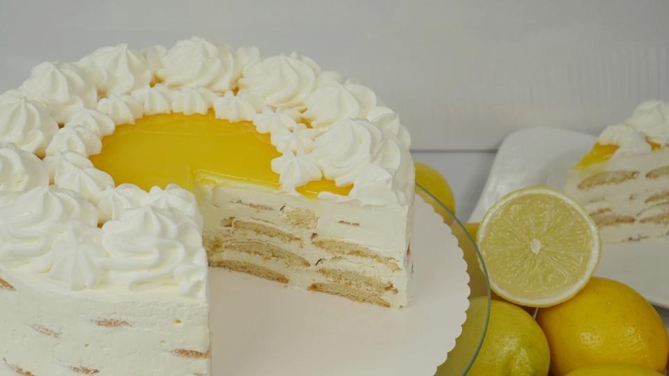 lemon curd cake rezept mit bild von amerikanisch kochende. Black Bedroom Furniture Sets. Home Design Ideas