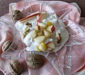 Birnen-Nuss-Dessert