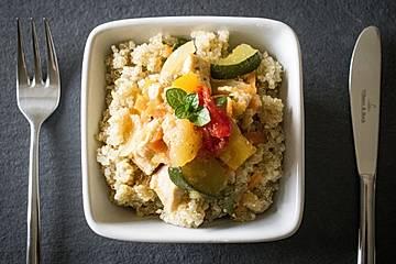 Quinoa-Gemüse-Pfanne