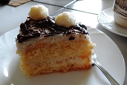 Schneller Kokos-Buttercreme-Kuchen