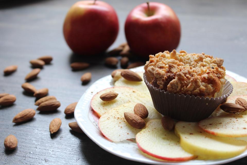 Apfel-Käsekuchen Muffins von Saskiier | Chefkoch.de