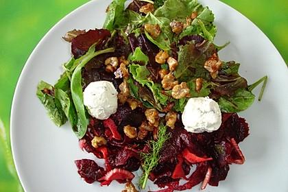 rote bete fenchel salat mit frischk se und. Black Bedroom Furniture Sets. Home Design Ideas