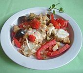 Gemüseauflauf mit Mozzarella