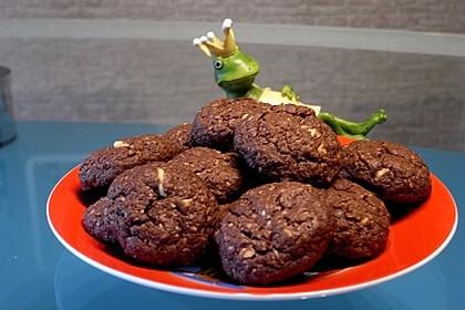 Urmelis Kokos-Nuss-Schokoladen-Cookies