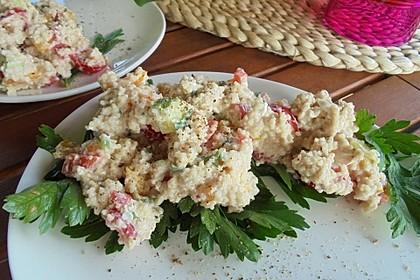 Couscous-Salat mit einer frischen Zitronen-Joghurt-Sauce 5