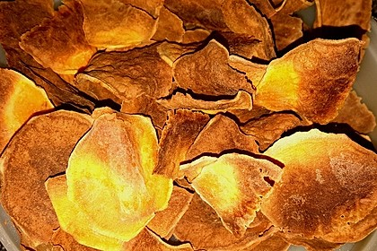 Fettfreie Süßkartoffel-Chips