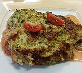 Seelachsfilet mit Brokkoli-Käse-Haube