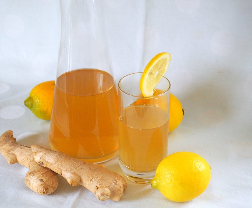 Getränk mit Ingwer und Zitrone von trekneb | Chefkoch.de