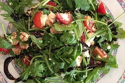 Rucolasalat mit Feta, Cranberries und Walnüssen 1