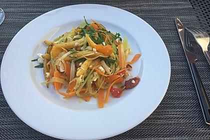 Sommerliche Schupfnudel-Gemüse-Pfanne