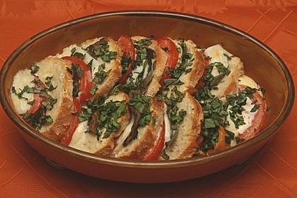 Toskanischer Tomaten-Brot-Auflauf