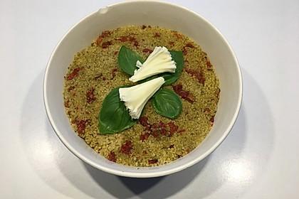 Couscous-Pesto-Salat