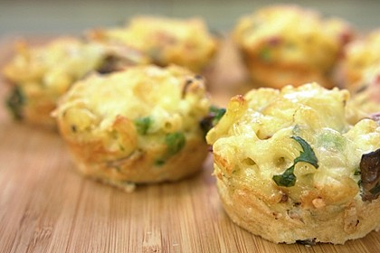 Nudel-Gemüse-Muffins