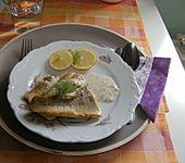 Zander in Dill-Sahne-Sauce