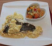 Kartoffel-Karotten-Paprika-Sellerie-Gemüse mit Lauchzwiebeln