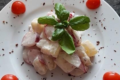 Radieschen-Käse-Salat mit Harzer