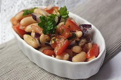 Weiße Bohnen-Salat mit Anchovis