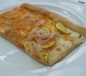 Scampi- bzw. Garnelen-Pizza (Bild)