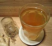 Heißes Fenchel-Ingwer-Getränk