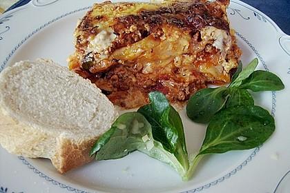 Furchtbar einfache Lasagne (Familienrezept)