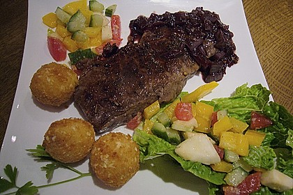 All - in - one - pan Steak Bourguignonne