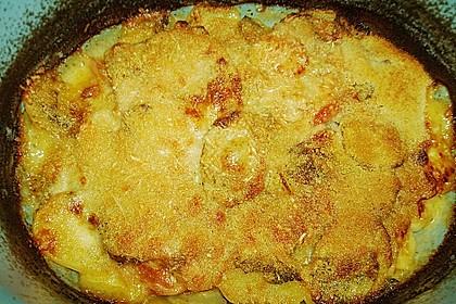 Kartoffeln-Tomaten-Basilikum Gratin 4
