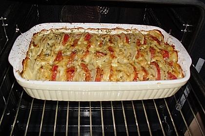 Kartoffeln-Tomaten-Basilikum Gratin 7