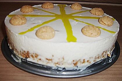 Amaretto - Mousse - Cheesecake (ohne backen) (Rezept mit Bild ...