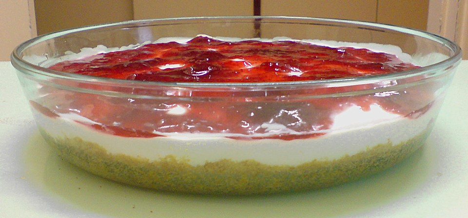 amaretto mousse cheesecake ohne backen auf chefkoch de amaretto mousse ...