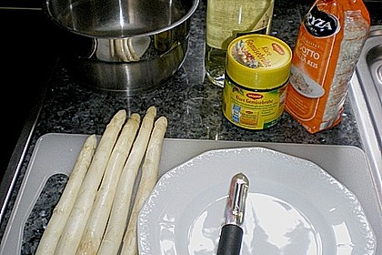 Spargel - Risotto 3