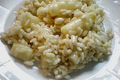 Spargel - Risotto